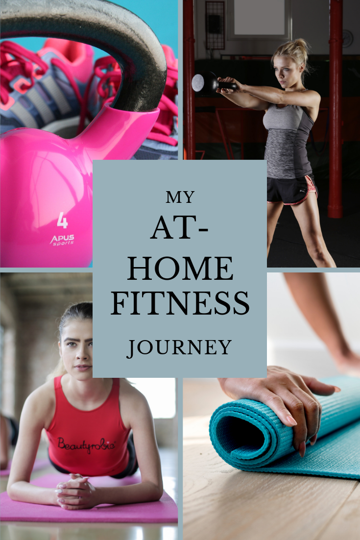 With four kids at home, it's not always possible to get to a gym. Here I share my at-home fitness journey with you, including workouts and my favorite gear!