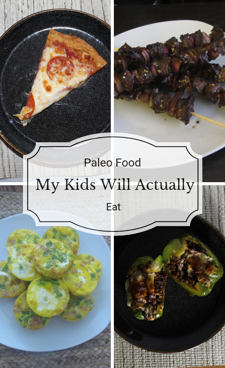 Feeding kids can be tricky, especially on any kind of special diet. Here I've put together a list of tried and true paleo food my kids will actually eat.